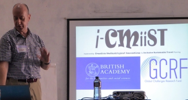 Steve CInderby explains the i-CMiiST Project