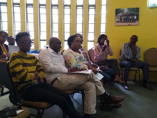 i-CMiiST Stakeholder meeting in Nairobi