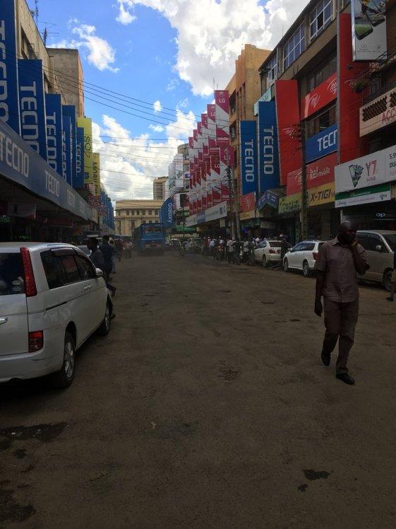 Photo Luthuli street Nairobi