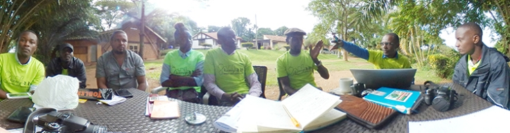 Kampala (Active Mobility Programme) Team Photo