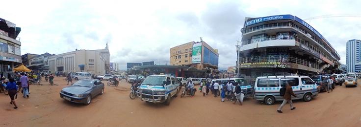 Kampala Streetscape